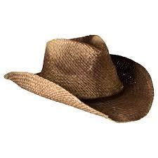 a cowboy hat