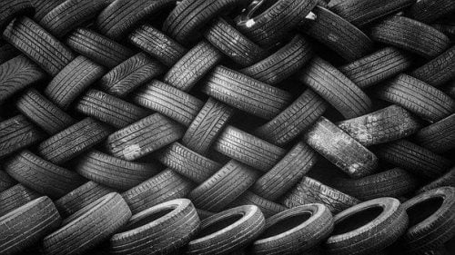 image of a tire tread