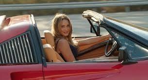 pretty girl in res Ferrari