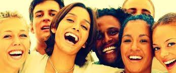 6 girls smiling