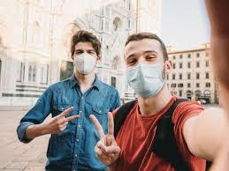 2 guys in masks