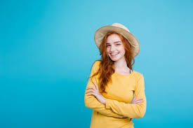image of a girl in a hat