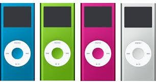 Many IPods side by side